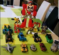 assorted plastic toy collection with box Hollywood, 33021
