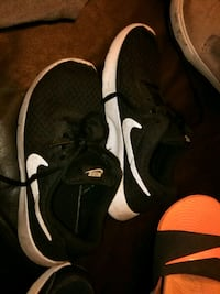 pair of black Nike running shoes San Antonio, 78266