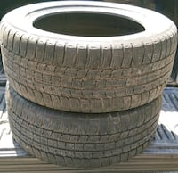 Michelin - 225/55/17 - 2 available.