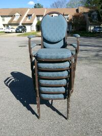 Armed Stackable Chairs $8 each 50 available Virginia Beach, 23462