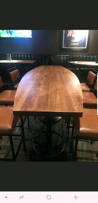 Solid wood Surfboard tables Calgary, T2K 2T4