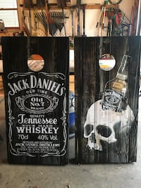 Custom made Jack Daniels cornhole set York, 17408