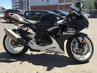 2013 Suzuki GSXR 600 with 6278 KM in mint condition MONTREAL