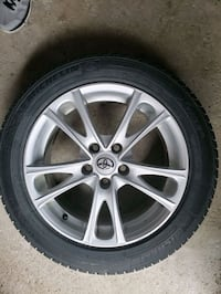 Toyota Camry Winter tire Package. Mississauga, L5N