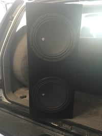 black and gray subwoofer speaker Ontario, 91762