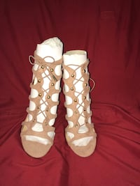 Pair of brown suede  sandals Gulfport, 39501