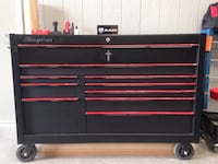 Black and Red Snap On toolbox