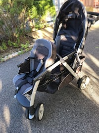 Chicco travel system. Carseat and stroller Woodbridge, 22191