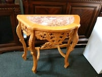 Marble top entryway or wall table Houston, 77077