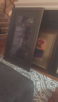 brown wooden framed glass cabinet Herndon, 20171