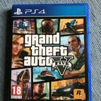 Custodia Grand Theft Auto Five per PS4 Aprilia, 04011