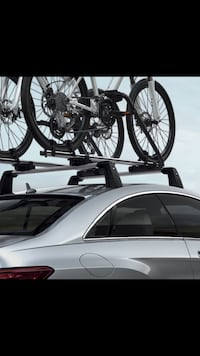 Silver bicycle car roof rack McAllen, 78503