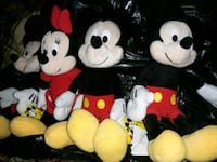 Mickey & Minnie Mouse Plush Toys Milwaukee, 53208