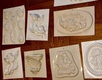 17 VINTAGE CERAMIC MOLD SET!VERY RARE! BX AREA!CASH ONLY!PICK UP ONLY! New York, 10467