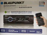 Car stereo : blaupunkts am-fm bluetooth media receiver ( no cd player  Bell, 90201