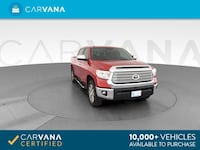 2016 Toyota Tundra CrewMax pickup Limited Pickup 4D 5 1/2 ft Red