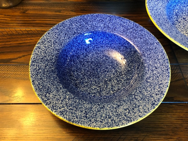 Large Salad Bowl And 4 Salad Serving Bowls! Made In Portugal! 1784abef-5d8f-4fff-aab3-1d19250119e8
