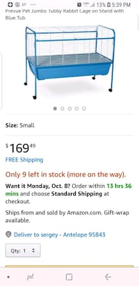 Jumbo cage for small pets 2337 mi