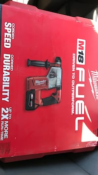 Brand new Milwaukee( fuel ) rotary hammer drill kit South Ogden, 84405