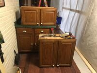 brown wooden cabinet with drawer Springfield, 22150