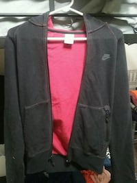 Nike black and red zip-up jacket XS Seymour, 37865