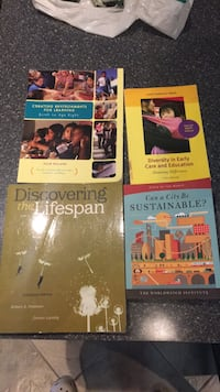 ECE books for sale. For Humber College program Vaughan, L4H 1G4