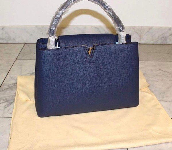 3be44f680fb2 Used LV capucines navy blue for sale in Montréal - letgo