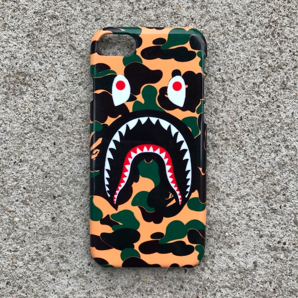 outlet store a6cb1 3938e BAPE Bathing Ape Shark Mouth iPhone Case