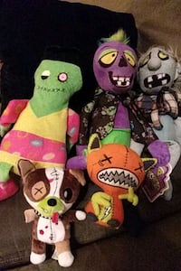 Zombie Plush collection