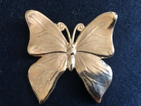 Gold Butterfly Pin (Costume) Gaithersburg
