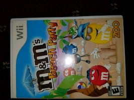 M&M wii game