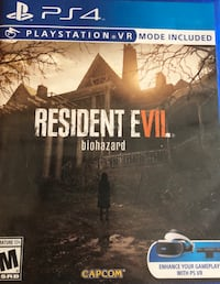 Ps4 game - resident evil 7 biohazard  Washington, 20009