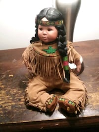 perillo native American doll