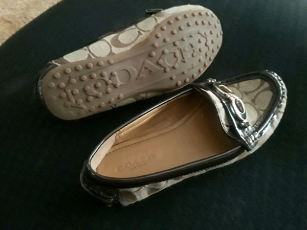 c6245c3d88a62b Used Genuine COACH brown shoes size 5 for sale in Douglasville - letgo