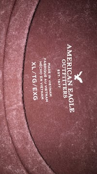 American Eagle t-shirt w fringe Hagerstown, 21740