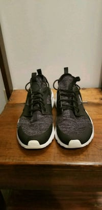pair of black-and-white Nike basketball shoes Brownstown, 47220
