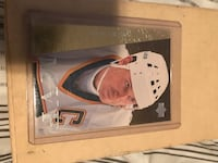 man wearing white, green, and yellow NHL jersey collectible card Gatineau, J8P 0B2