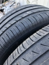 2 Michelin tires size 255/55R18