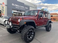 2010 Jeep Wrangler Unlimited 4WD 4dr Rubicon *25K Miles*Lifted* Las Vegas