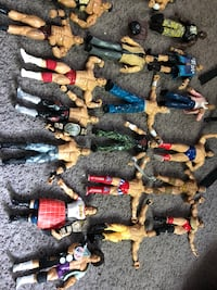 WWE ACTION FIGURES N MORE