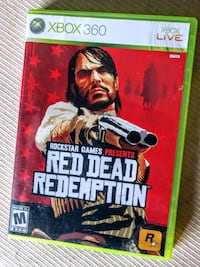 Red Dead Redemption Xbox 360 Rockstar Game M 17+ Manchester, 03103