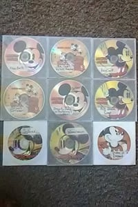 "Classic ""Mickey Mouse"" cartoon DVD's"