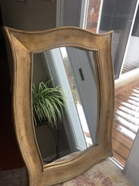Gold Frame Decorative Mirror