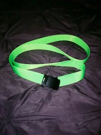 Lime Green Belt La Plata, 20646