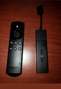 Black amazon fire tv stick with alexa voice remote Washington, 20020