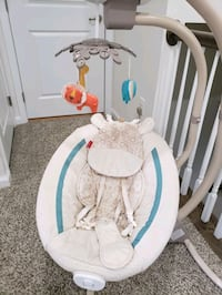 Fisher price baby cradle and swing Herndon, 20171