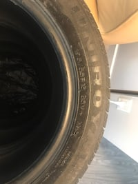 Four tires, all season but with M+S marking. Barely used, excellent condition . Coquitlam, V3B 2P5