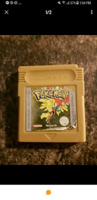 POKEMON VERSION OR - GOLD retro GAME BOY  Laval, H7M 2L9