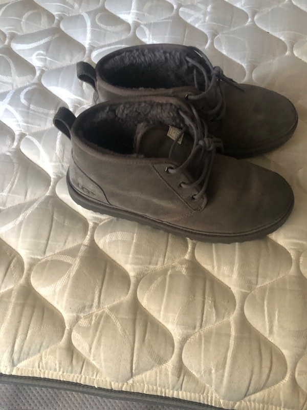 5cde9681ff72 Used Ugg Boots Grey Size 12 for sale in Clinton Township - letgo