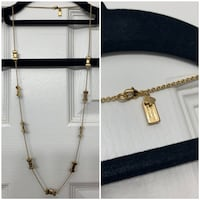 Kate Spade Gold Bow Necklace  Toronto, M3H 5Y4